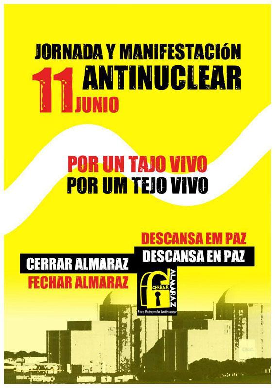 Cartaz da Manifestação de 11 de junho